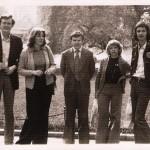 1977 Clasa de orga   cu Franz Metz, Maria Agoston, Philippi Ursula, Radu Valentin, Felician RoscaJpg