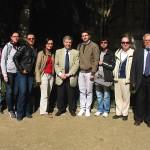 2012 Paris cu studentii si Jean Galard