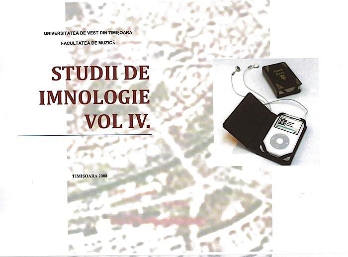 1. Studii de Imnologie Vol. IV